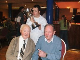 Pat Fanning, Frankie Walsh and John Flynn