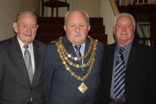 2011 - Frankie Walsh, Mayor Pat Hayes and Dickie Roche