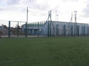 The new All Weather Pitch and Hurling Alley