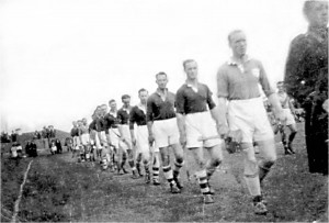 John Keane Leading Team 1949